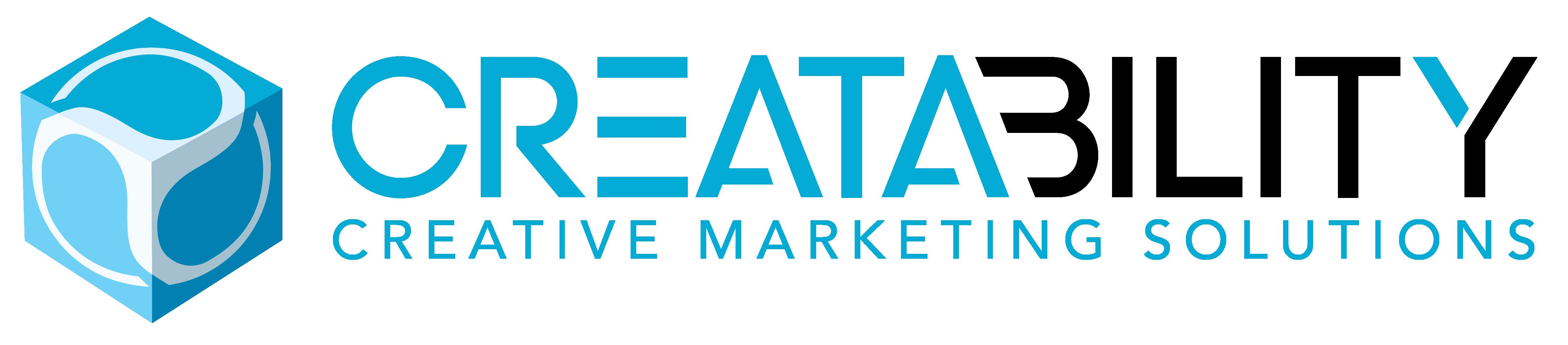Creatability Logo blue and black2017